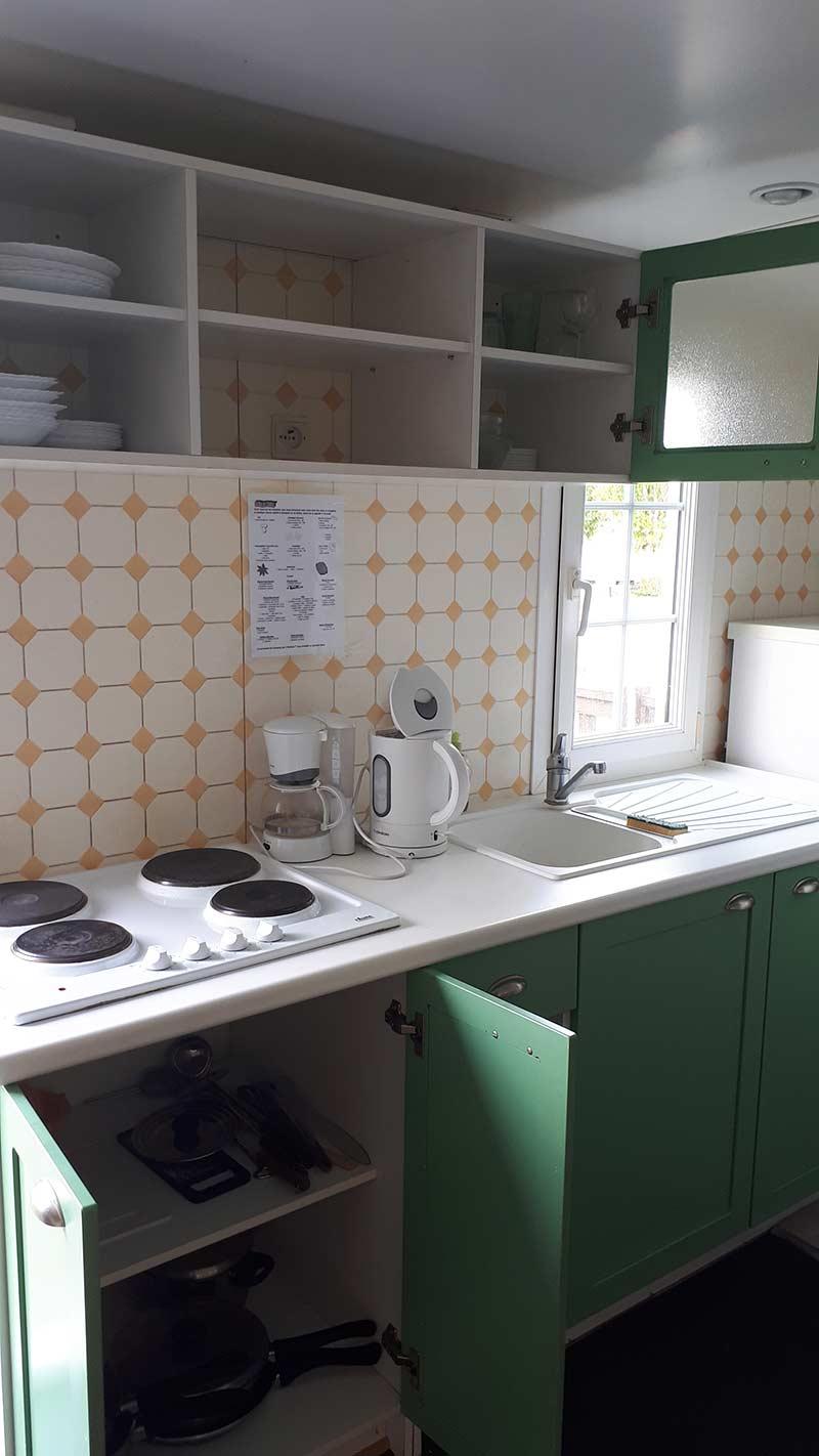 cuisine mobilhome résidents