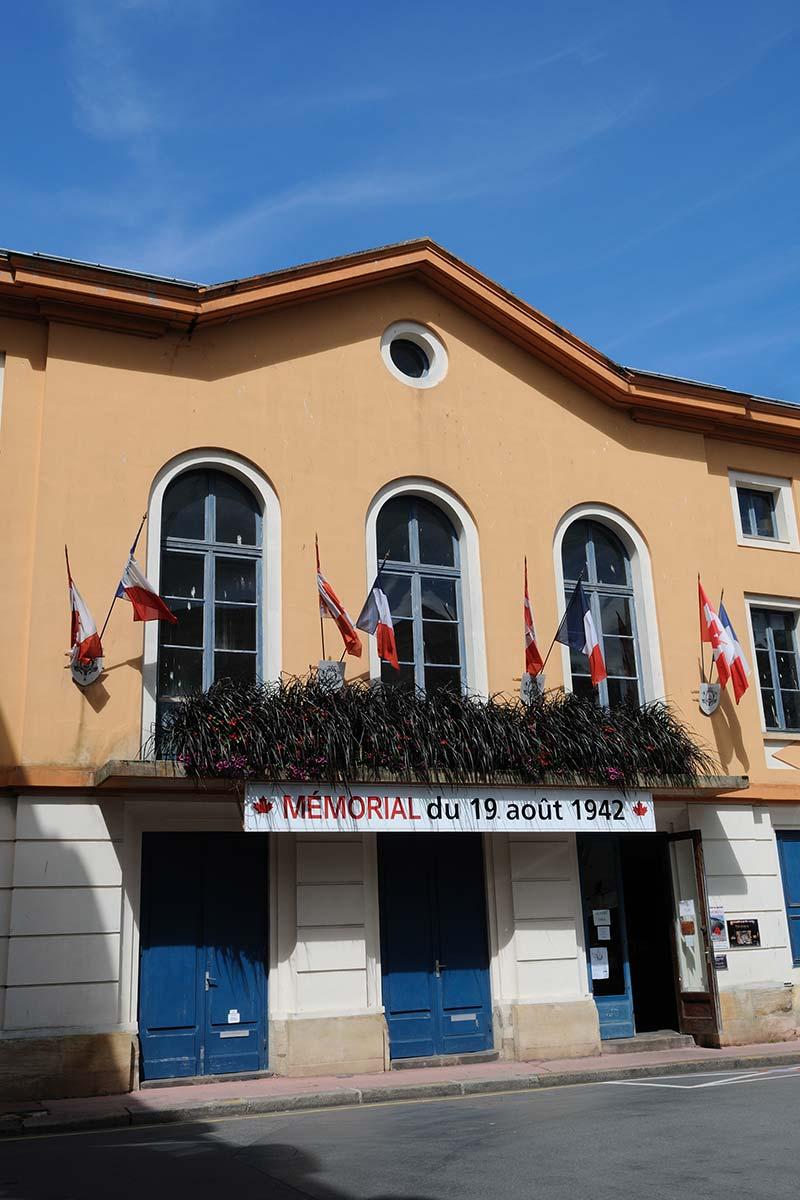 mémorial près de Dieppe
