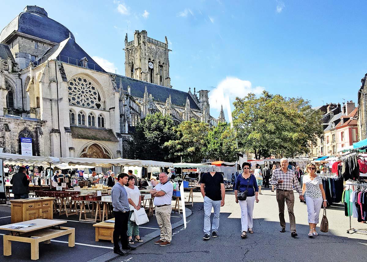 marchés Dieppe