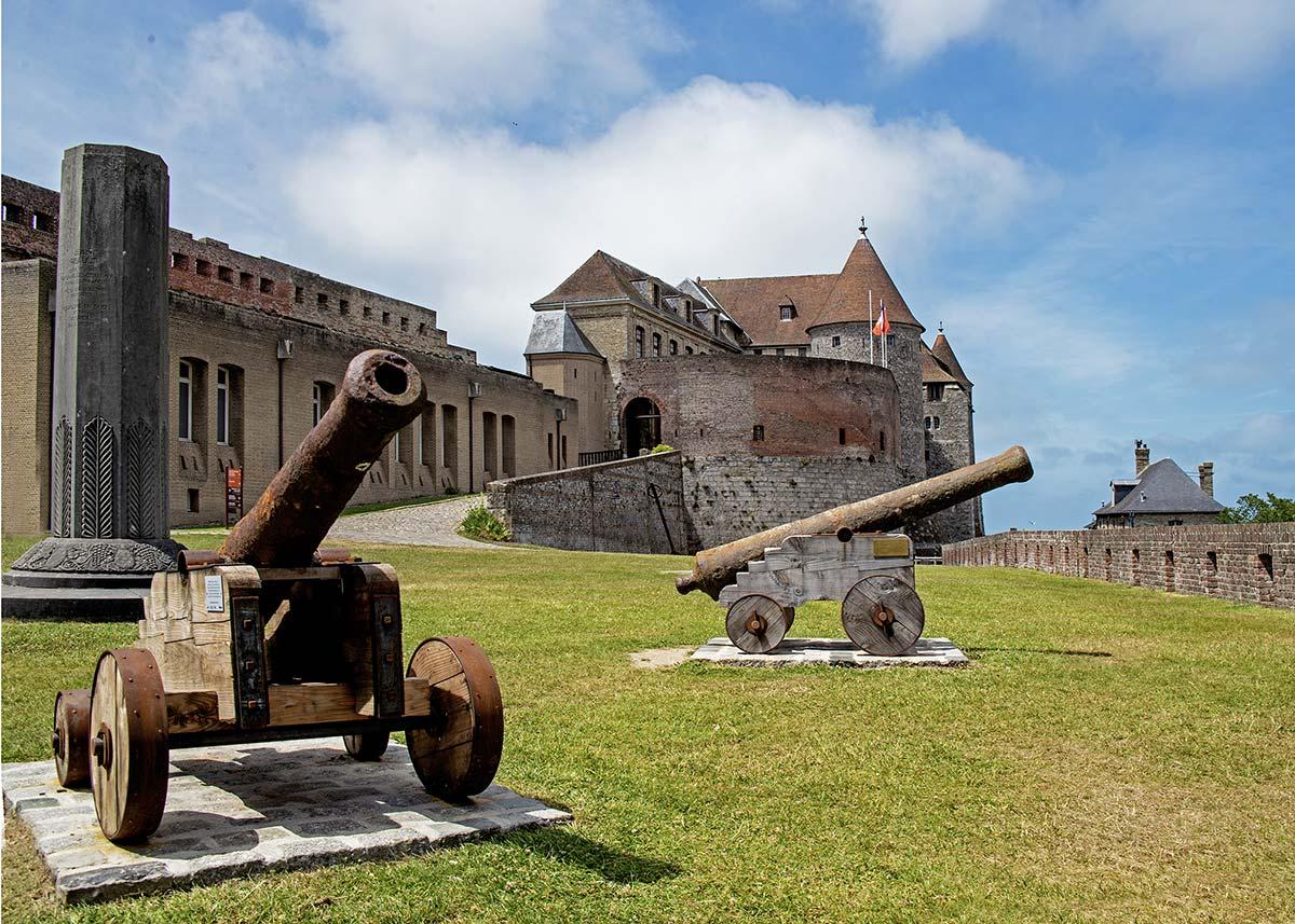 canons Dieppe