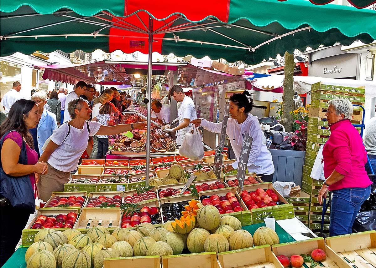 marché Dieppe