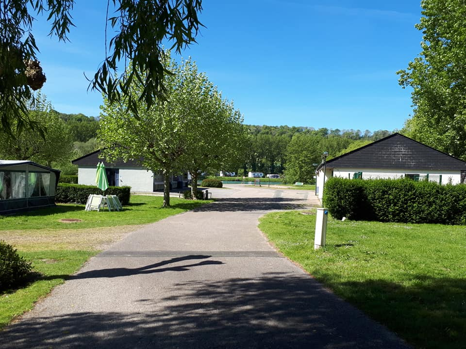 entrée camping Dieppe