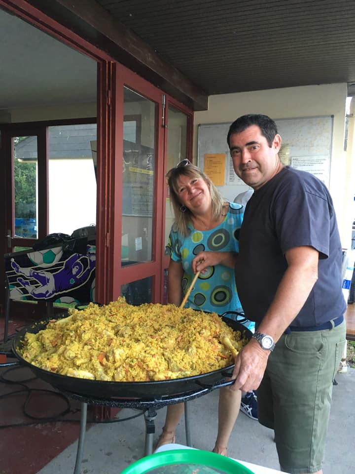 soirée paella camping Dieppe