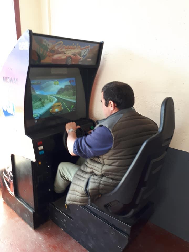 salle de jeux vidéo